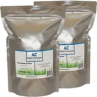 Ammonium Sulfate - (NH4)2SO4 - 21-0-0 Fertilizer - 10 Pounds