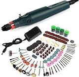 Taladro de energía eléctrica Mini-herramientas taladro eléctrico Rectificadora Rectificadora Set de accesorios de mano de perforación de la máquina máquina de grabado XUAGMT
