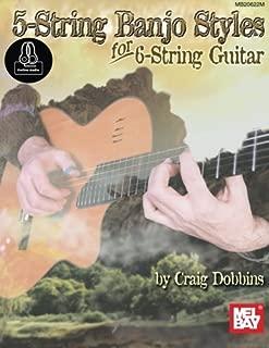5 string banjo styles for 6 string guitar