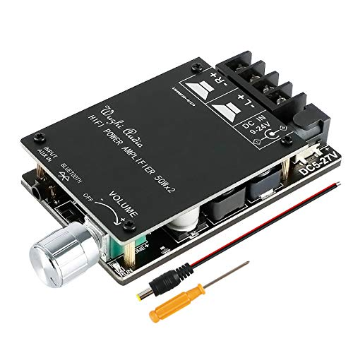Scheda amplificatore Bluetooth HiFi Stereo 2.0 TPA3116D2 amplificatore audio 2X50W 5V