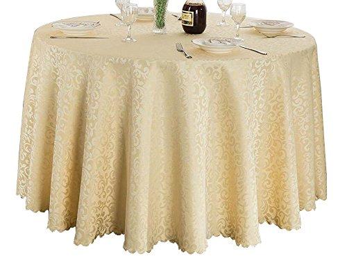 Black Temptation Beautiful Beachcloth d'hôtel en Tissu de Table de Banquet, Linge de Table, Beige