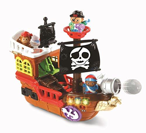 VTech Tut Tut Copains Super Bateau Pirate 2 en 1 Niño - Juegos educativos (AA, 550 mm, 190 mm, 381 mm, 2,3 kg)