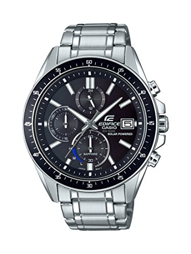 Casio Men's EFS-S510D-1AVUEF Edifice Analog Display Quartz Silver Watch