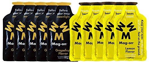 Mag-on (マグオン) エナジージェル グレープフルーツ5個 新味レモン5個 計10個セット