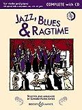Jazz, Blues & Ragtime (Neuausgabe): Complete Edition. Violine (2 Violinen) und Klavier, Gitarre ad libitum. Ausgabe mit CD. (Fiddler...