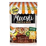 Hello Day Cereal Flakes Muesli con frutas secas y confitadas, nueces y semillas - 1 x 300 gramos