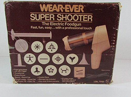 Vintage Wear-Ever Super Shooter Electric Cookie Press Candy Maker...