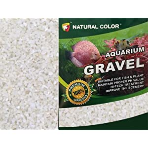 NATURAL COLOUR Aquarium Gravel, 5 kg, White