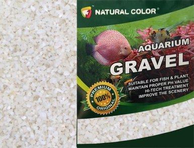 NATURAL COLOUR Aquarium Gravel, 5 kg, White