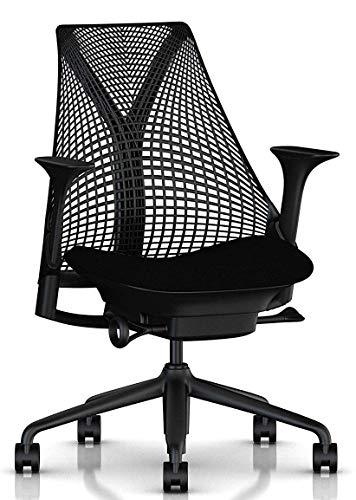 【正規品】 Herman Miller (ハーマンミラー) セイルチェア オフィスチェア ブラック BBキャスター 12年保証...