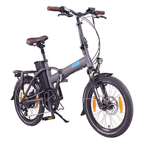 "NCM London 20"" E-Bike, E-Faltrad, 36V 15Ah 540Wh Anthrazit"