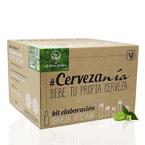 #Cervezanía - Kit de elaboración de cerveza artesana Pilsen Ale   Con certificado ecológico