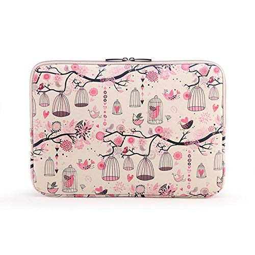 Laptop Sleeve Bag for MacBook Pro Retina 13.3 15 Pouch for iPad 9.7' 11 12 13 14 15.6 inch Notebook Laptop Bags for women-BI001_10-inch