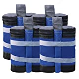 ABCCANOPY Canopy Weights Instant Shelters Sandbags Weight Bags, Set of 4 - Blue