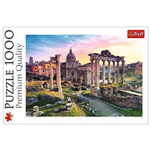 Trefl 10443 Puzzle Forum Romanum, 1000 Teile, Farbig