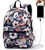 Kinmac Camellia 15 inch Waterproof Laptop Backpack Travel Outdoor Backpack with...