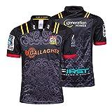 2019-2020 Rugby Jersey,maorí/Sudáfrica/Irlanda Copa del Mundo De Rugby De Manga Corta De La Camiseta Polos Tops,Formación Camiseta De Fútbol De Los Hombres De La Com Chief-M