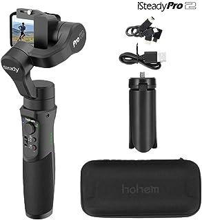 Hohem iSteady Pro 2, estabilizador de cardán a prueba de salpicaduras de 3 ejes para GoPro, cámara de acción DJI OSMO, cardán GoPro con trípode, Gopro Hero 7/6/5/4/3, SJCAM, YI, Sony RX0, AEE