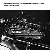 Zoom IMG-2 tomshoo borsa per telaio bici