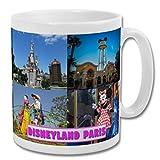 Disneyland Paris Francia - Taza de recuerdo de ubicación, 295 ml