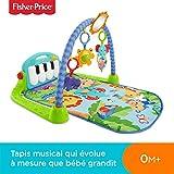 Fisher-Price Tapis Musical d'Éveil et d'Activité Piano pour Bébé, Aire de Jeu,...