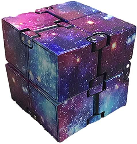 BN LX Infinity Cube, kunststof toverkubus, voor stressvermindering, anti-angst, stress, decompressiespeelgoed voor kinderen en volwassenen