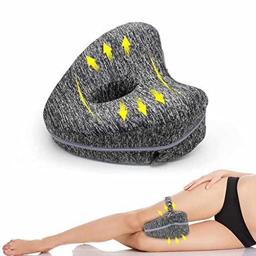 Almohada para Piernas /Cojín Corrector de Postura, Ortopédico para Espalda, Rodillas, Cadera/Espuma Efecto Memoria Viscoelástica