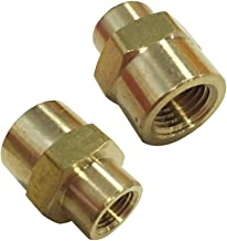 Legines NPT Reducing Coupling Brass 1/4