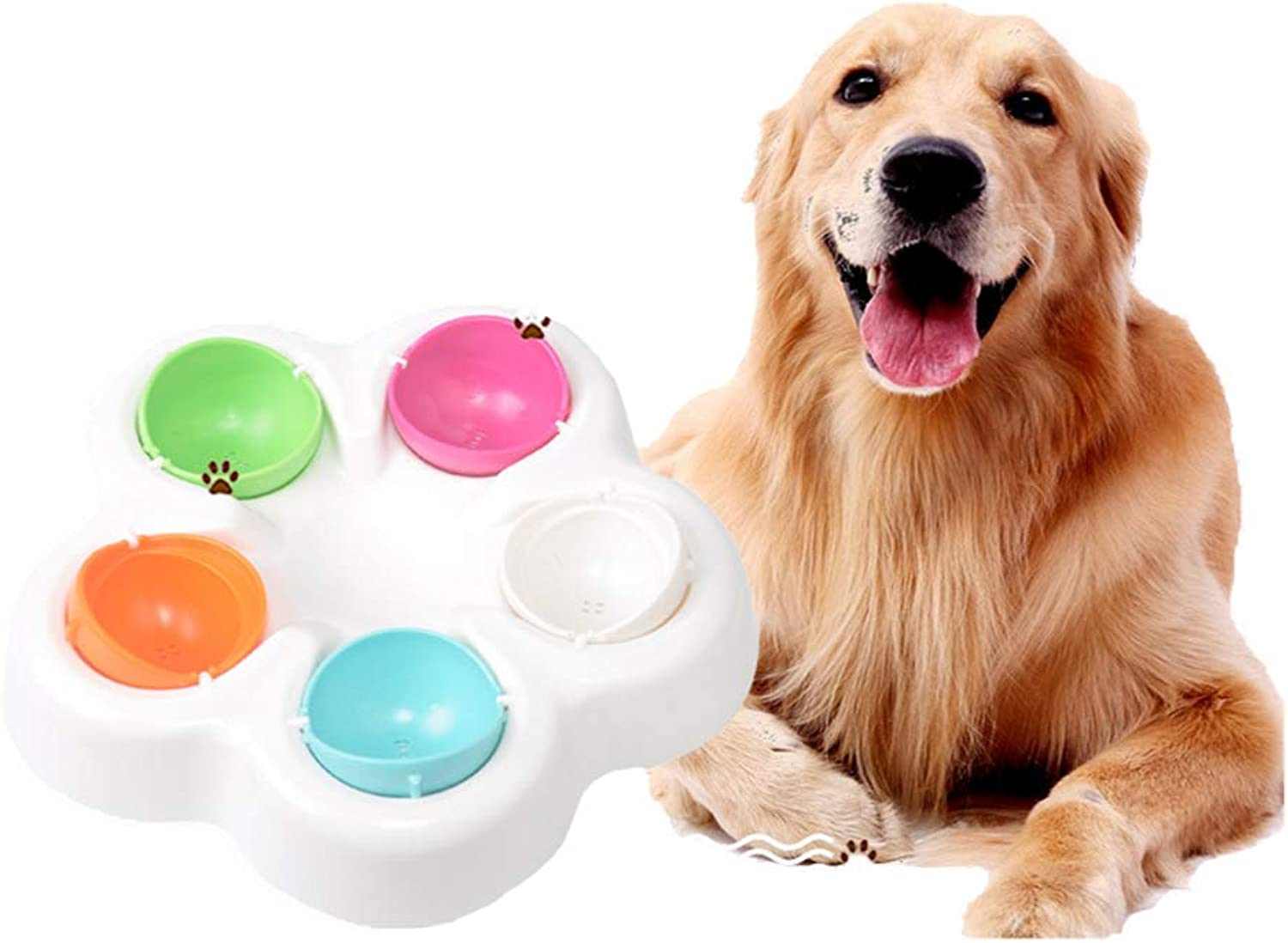 Pet Toy Treasure Hunt Slow Food Bowl Slow Feeder Dog Puzzle Training Toys Eat Slow Food Bowl Smart Interactive Toys
