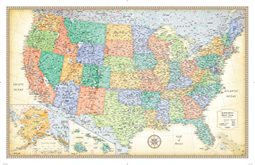 Rand McNally Classic United States Wall Map