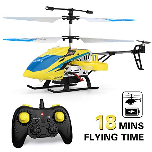 JJRC Helicopter with Remote Control, JX02 Helicopter 4 Channel with Side Propellers for Fly Sideway...
