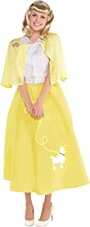 Amscan Womens Grease Summer Nights Sandy Adult Costume, X-Large