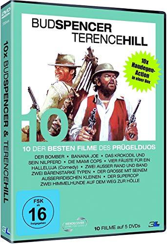 10 Haudegen Kultfilme des Prügelduos BUD SPENCER & TERENCE HILL Best of 1971 - 1985 DVD Box LIMITED EDITION