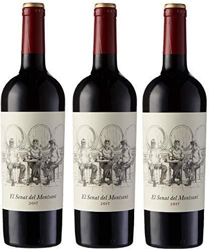 7 Magnífics Senat del Montsant, Vino Tinto - 3 botellas de 75 cl, Total: 2250 ml