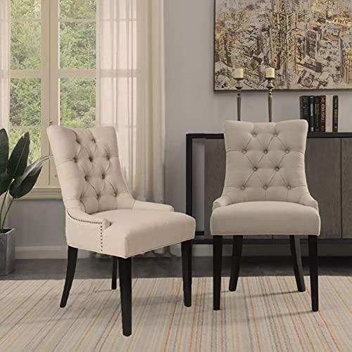 Sedia per Sala da Pranzo Perfetta e Unica Sedia da Soggiorno Sedia Moderna in Legno Alto Upgrade Reclinabile Liscio e Rilassante (Colore: Bianco)