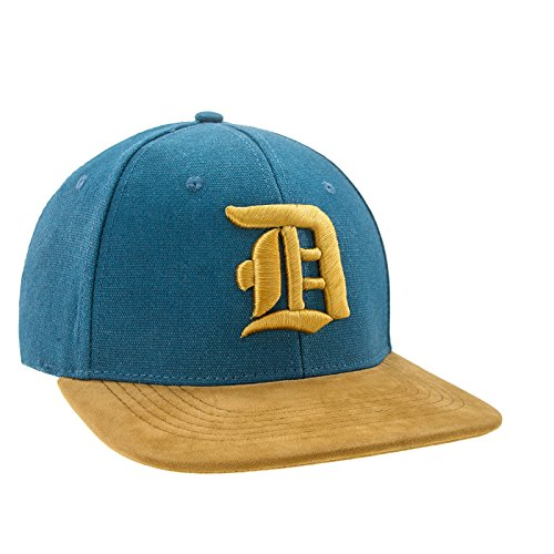 Morefaz Nouveau Snapback Cap Toit en suède Casquette de Baseball Bonnet Cap Chapeau Snap Back 3D Gothique D (D Gold)