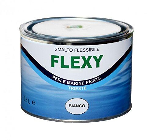Marlin Flexy - elastische Gummi Farbe für Schlauchboote 500ml, Farbe:schwarz