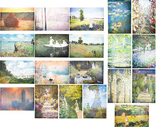 Claude Monet Posters (13 x 19 in, 20 Pack)