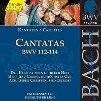 Bach: Cantatas BWV 112-114