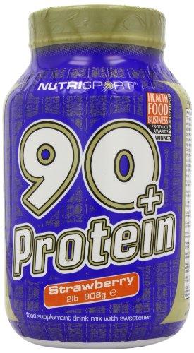 90+ Protein 908g Erdbeere