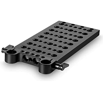 SMALLRIG Multi-Purpose Cheese Plate Mounting Plate with Dual Rod Clamp - 1093
