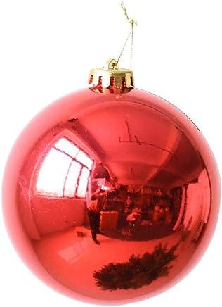 Palle Di Natale Grandi.Amazon It Palle Di Natale Grandi Addobbi E Decorazioni
