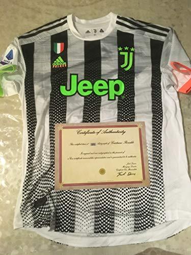 CR7 Maglia Ronaldo Palace Juve AUTOGRAFATA Certificato COA