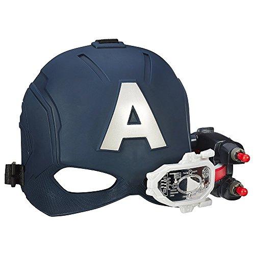 Hasbro Marvel B5787EU4 Marvel Avengers B5787EU4-Captain America Elektronischer Action, Spielzeug Helm, Multi