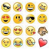 144 2' Temporary Emoji Tattoos - 16 Assorted...