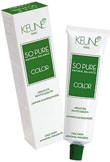 Tinta Keune So Pure 60ml - Cor 6.3 - Louro Escuro Dourado