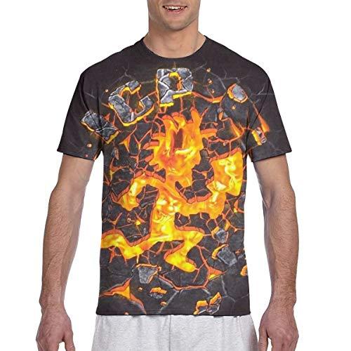 XALER Hatchetman ICP Mens Short Sleeve Fashion 3D Print Gift T-Shirt 3XL