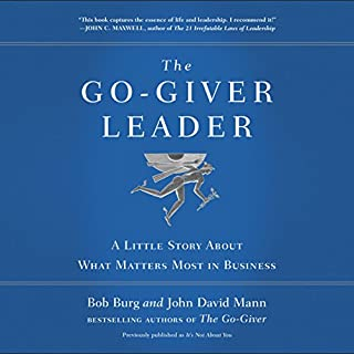 The Go-Giver Leader audiobook cover art