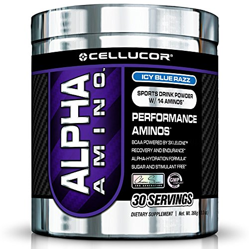 Cellucor Alpha Amino 366g Blue Raspberry