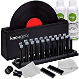 Knox Vinyl Record Cleaner Spin Kit - Washer Basin, Air Drying Rack, Cleaning